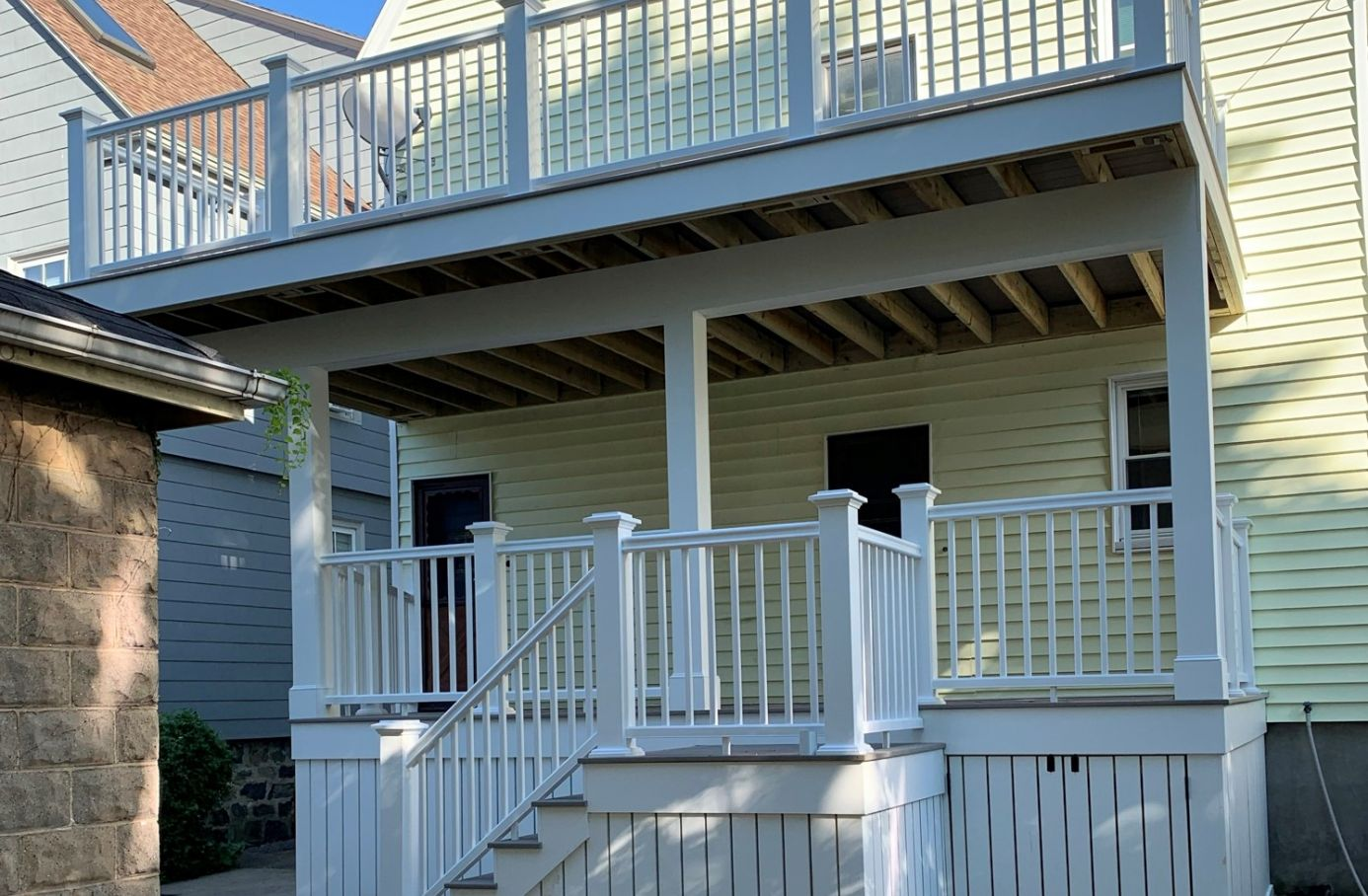 deck after construction