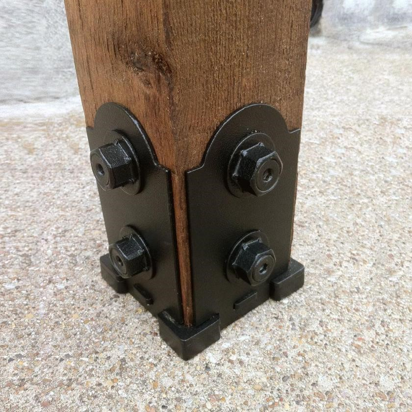 Ornamental Deck Post Bracket at Home Depot