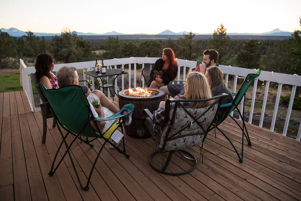 Gather around with your family on your new, cost-effective, dream deck.