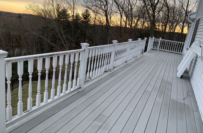 Pressure Treated Pine Railings