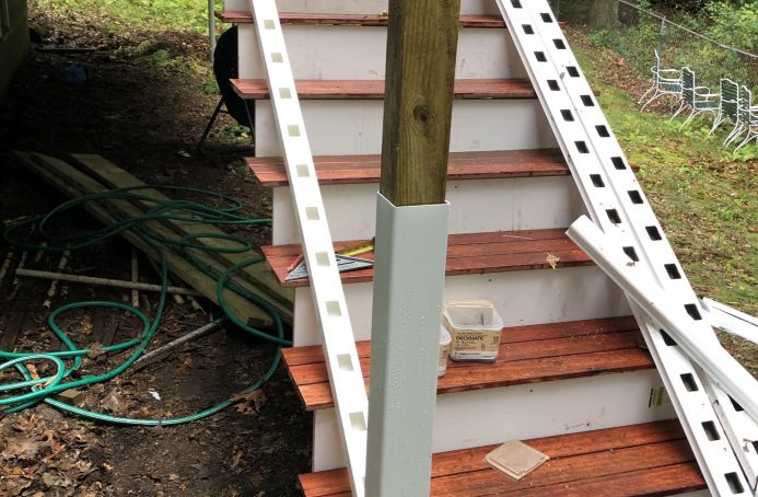 Mahogany Deck and Stair Rebuild