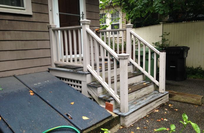 Front Stairs Rebuild