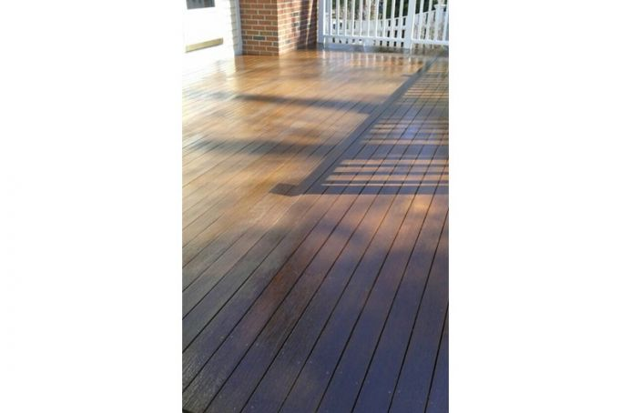 Pressure-Treated Pine with Natural Sealer