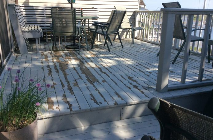 Pressure-Treated Pine with Natural Tone Sealer