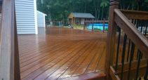 Brooksby Village Deck